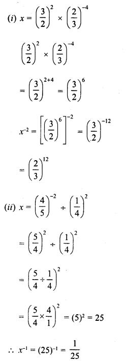 RD Sharma Class 8 Solutions Chapter 2 PowersEx 2.2 28