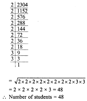 RD Sharma Class 8 Solutions Chapter 3 Squares and Square Roots Ex 3.4 15