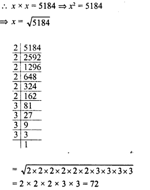RD Sharma Class 8 Solutions Chapter 3 Squares and Square Roots Ex 3.4 16