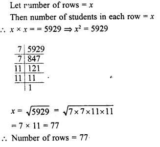 RD Sharma Class 8 Solutions Chapter 3 Squares and Square Roots Ex 3.4 24