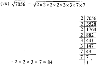 RD Sharma Class 8 Solutions Chapter 3 Squares and Square Roots Ex 3.4 3