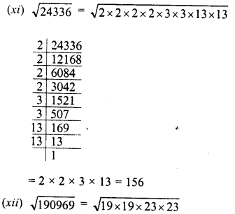 RD Sharma Class 8 Solutions Chapter 3 Squares and Square Roots Ex 3.4 5