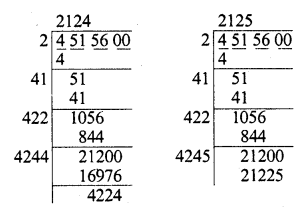 RD Sharma Class 8 Solutions Chapter 3 Squares and Square Roots Ex 3.5 17