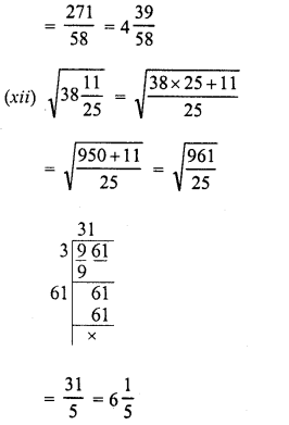 RD Sharma Class 8 Solutions Chapter 3 Squares and Square Roots Ex 3.6 10