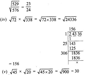 RD Sharma Class 8 Solutions Chapter 3 Squares and Square Roots Ex 3.6 15