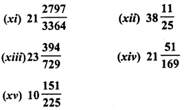 RD Sharma Class 8 Solutions Chapter 3 Squares and Square Roots Ex 3.6 2