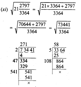 RD Sharma Class 8 Solutions Chapter 3 Squares and Square Roots Ex 3.6 9