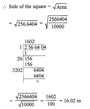 RD Sharma Class 8 Solutions Chapter 3 Squares and Square Roots Ex 3.7 18