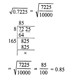 RD Sharma Class 8 Solutions Chapter 3 Squares and Square Roots Ex 3.7 2