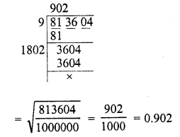 RD Sharma Class 8 Solutions Chapter 3 Squares and Square Roots Ex 3.7 4