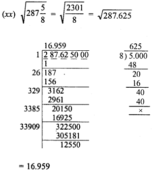 RD Sharma Class 8 Solutions Chapter 3 Squares and Square Roots Ex 3.8 11