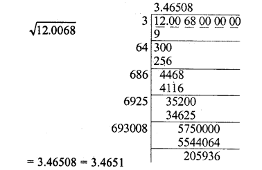 RD Sharma Class 8 Solutions Chapter 3 Squares and Square Roots Ex 3.8 12