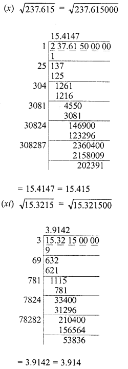 RD Sharma Class 8 Solutions Chapter 3 Squares and Square Roots Ex 3.8 5