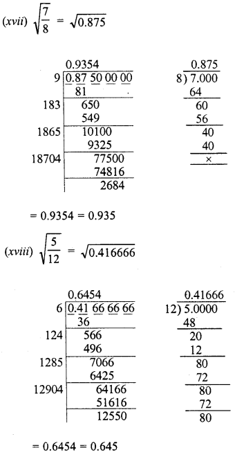 RD Sharma Class 8 Solutions Chapter 3 Squares and Square Roots Ex 3.8 9