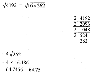 RD Sharma Class 8 Solutions Chapter 3 Squares and Square Roots Ex 3.9 14