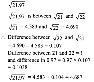 RD Sharma Class 8 Solutions Chapter 3 Squares and Square Roots Ex 3.9 21