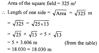 RD Sharma Class 8 Solutions Chapter 3 Squares and Square Roots Ex 3.9 25