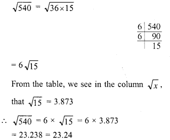 RD Sharma Class 8 Solutions Chapter 3 Squares and Square Roots Ex 3.9 7