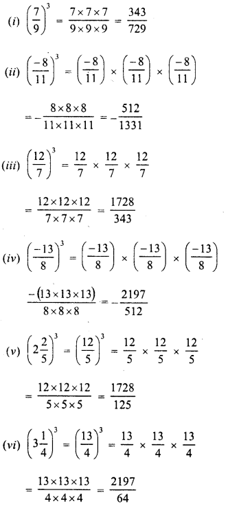 RD Sharma Class 8 Solutions Chapter 4 Cubes and Cube RootsEx 4.2 10