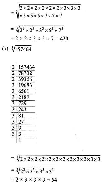 RD Sharma Class 8 Solutions Chapter 4 Cubes and Cube RootsEx 4.3 8