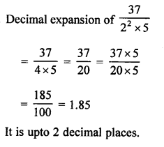 RS Aggarwal Class 10 Solutions Chapter 1 Real Numbers MCQS 7