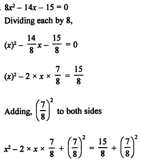 RS Aggarwal Class 10 Solutions Chapter 10Quadratic Equations Ex 10B 10