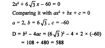 RS Aggarwal Class 10 Solutions Chapter 10Quadratic Equations Ex 10C 16