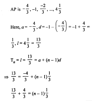 RS Aggarwal Class 10 Solutions Chapter 11Arithmetic Progressions Ex 11A 11