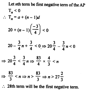 RS Aggarwal Class 10 Solutions Chapter 11Arithmetic Progressions Ex 11A 16