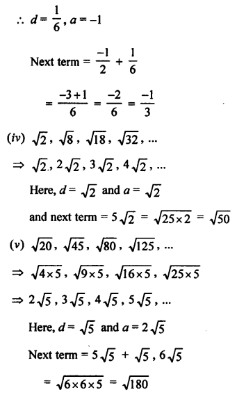 RS Aggarwal Class 10 Solutions Chapter 11Arithmetic Progressions Ex 11A 2