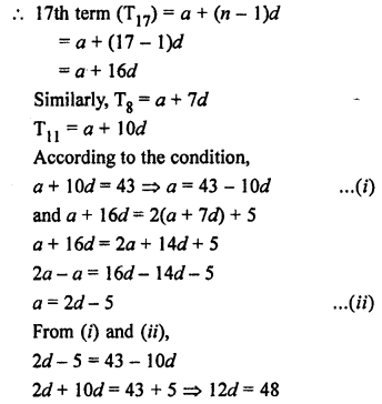 RS Aggarwal Class 10 Solutions Chapter 11Arithmetic Progressions Ex 11A 24