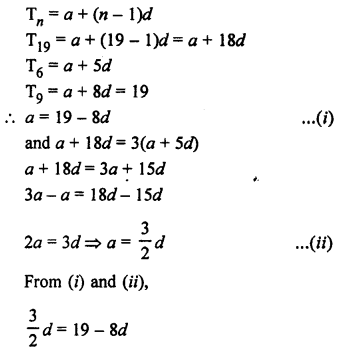 RS Aggarwal Class 10 Solutions Chapter 11Arithmetic Progressions Ex 11A 27