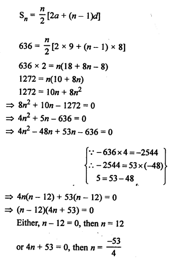 RS Aggarwal Class 10 Solutions Chapter 11Arithmetic Progressions Ex 11C 19