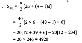 RS Aggarwal Class 10 Solutions Chapter 11Arithmetic Progressions Ex 11C 26