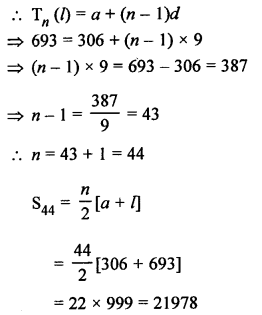 RS Aggarwal Class 10 Solutions Chapter 11Arithmetic Progressions Ex 11C 28