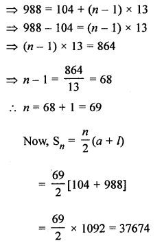 RS Aggarwal Class 10 Solutions Chapter 11Arithmetic Progressions Ex 11C 29