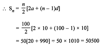 RS Aggarwal Class 10 Solutions Chapter 11Arithmetic Progressions Ex 11C 30