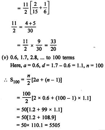 RS Aggarwal Class 10 Solutions Chapter 11Arithmetic Progressions Ex 11C 4