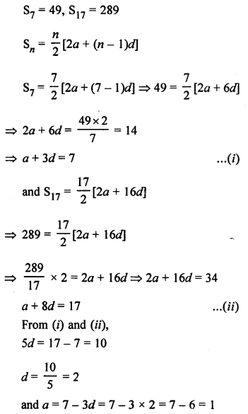 RS Aggarwal Class 10 Solutions Chapter 11Arithmetic Progressions Ex 11C 46