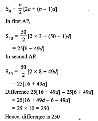 RS Aggarwal Class 10 Solutions Chapter 11Arithmetic Progressions Ex 11C 48