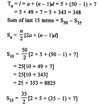 RS Aggarwal Class 10 Solutions Chapter 11Arithmetic Progressions Ex 11C 55