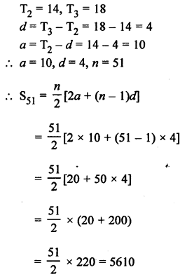RS Aggarwal Class 10 Solutions Chapter 11Arithmetic Progressions Ex 11C 66