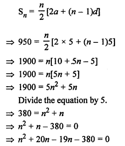 RS Aggarwal Class 10 Solutions Chapter 11Arithmetic Progressions Ex 11C 75