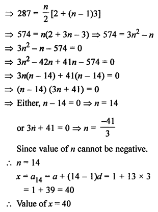 RS Aggarwal Class 10 Solutions Chapter 11Arithmetic Progressions Ex 11D 13