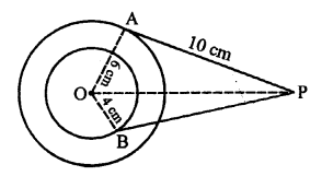 RS Aggarwal Class 10 Solutions Chapter 12Circles Ex 12A 8