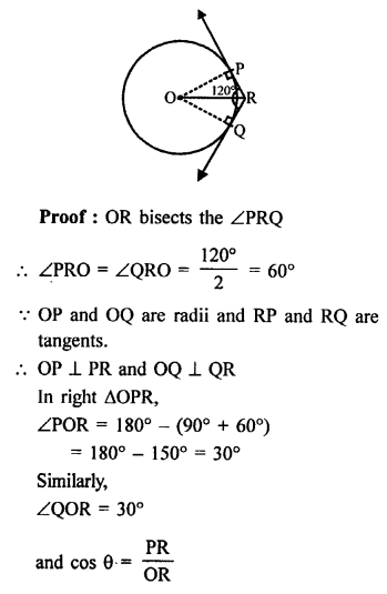 RS Aggarwal Class 10 Solutions Chapter 12Circles Ex 12B 7