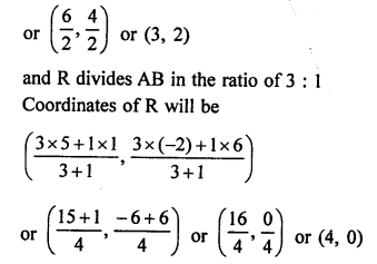 RS Aggarwal Class 10 Solutions Chapter 16Co-ordinate Geometry Ex 16B 11