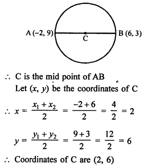 RS Aggarwal Class 10 Solutions Chapter 16Co-ordinate Geometry Ex 16B 17