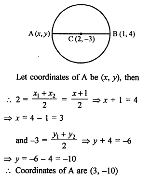 RS Aggarwal Class 10 Solutions Chapter 16Co-ordinate Geometry Ex 16B 18