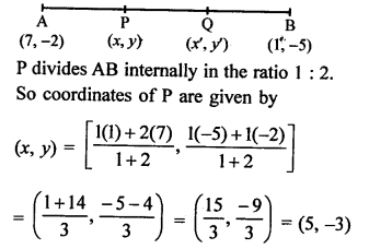 RS Aggarwal Class 10 Solutions Chapter 16Co-ordinate Geometry Ex 16B 2